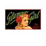 Retro Pinup Glamour Girl