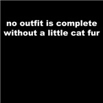 No outfit is complete without cat fur