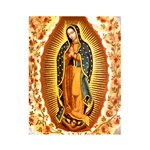 Guadalupe with Roses