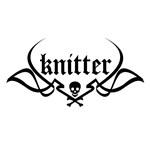 Knitter - skull pinstriping