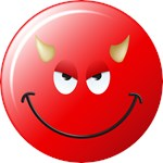 Devil Smiley Face