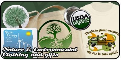 Nature & Environment Shirts and Gifts