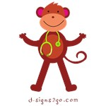 Monkey Medical Professional