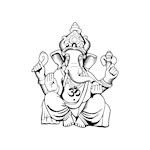 Ganesha Blackline