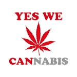 Yes We Cannabis Red