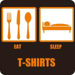 Eat Sleep T-Shirts