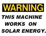 Warning:Solar Energy !