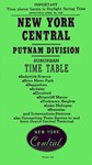 New York Central, Putnam Division 1956