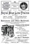B&O Royal Blue LineTrains