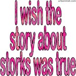 I wish the story about storks was true