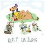 Animal Art Class