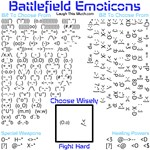 Battlefield Emoticons Section