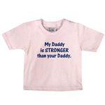 MY DADDY IS STRONGER