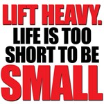 LIFE TOO SHORT SMALL