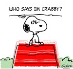 Crabby Snoopy