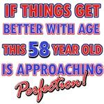 Funny 58th Birthday designs