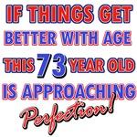 Funny 73rd Birthday designs