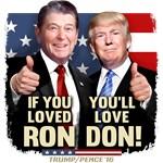 Reagan Trump Retro