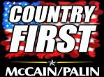 McCain Palin Country First