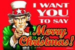 Uncle Sam - I Want You to say