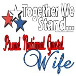Proud National Guard Wife
