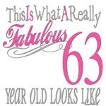 63rd Birthday Gift