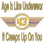 Funny 43rd Birthday