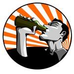 Propaganda beer drinking