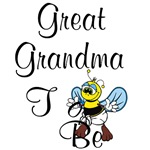 Playful Great Grandma To Be