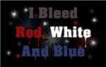 Bleed Red White Blue