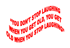 HUMOR/NEVER STOP LAUGHING