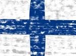 Vintage Finland Flag