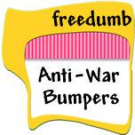 Anti-War / IRAQ Bumper Stickers