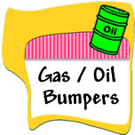 Gas / Oil Bumper Stickers