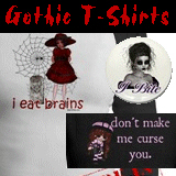 Gothic T-Shirts and Goth Gifts