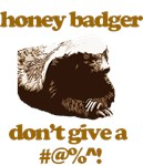 honey badgers are awesome