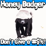 Honey Badger Don't Give a