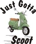 Vespa LX Green Just Gotta Scoot