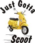 Vespa LX Yellow Just Gotta Scoot