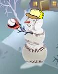 baseball vertical sports section