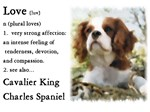 Cavalier King Charles Spaniel Love Is