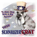 VOTE Miniature SCHNAUZERcrat