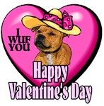 Staffordshire Bull Terrier Valentines Day Gifts