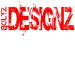 BoltZ Faded Logo Design