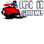 Let It Snowmobile Design