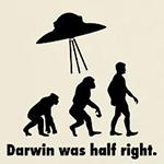 Darwin Was Half Right.