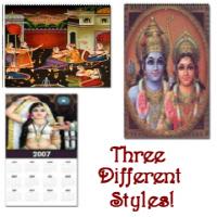 Hindu Art Calendars