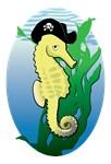 Pirate Seahorse