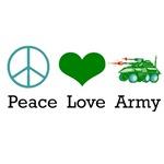 Peace Love Army
