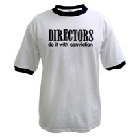 Directors do it with conviction